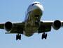 伊丹空港着陸